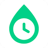 Water Drink Tracker - Water Time & Alarm Icon