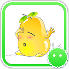 Stickey Funny Pear