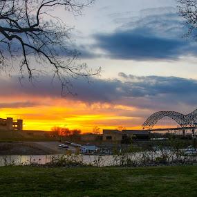 Down by the riverside by Joe Machuta - Buildings & Architecture Bridges & Suspended Structures