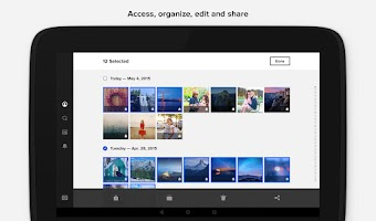 Screenshot of Flickr