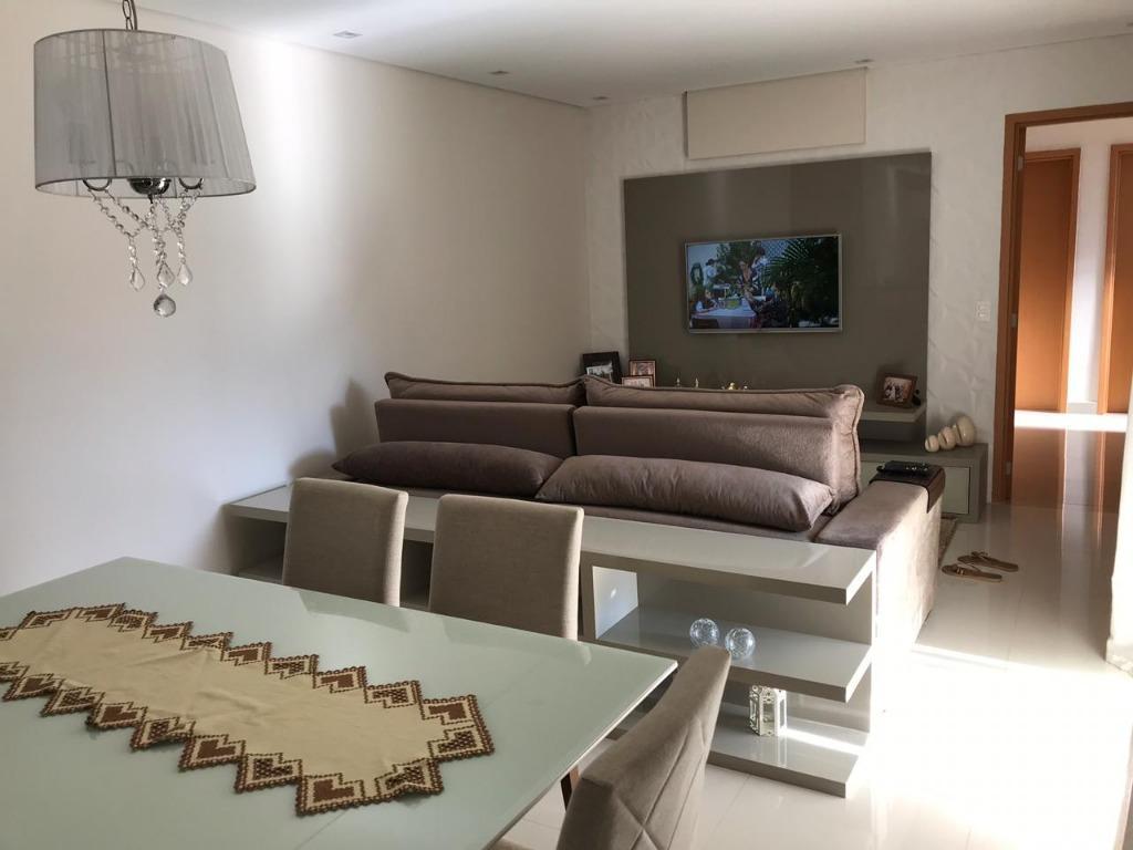 Apartamento com 3 dormitórios para alugar, 100 m² - Condomínio Eleve Jundiaí - Jardim Trevo - Jundiaí/SP