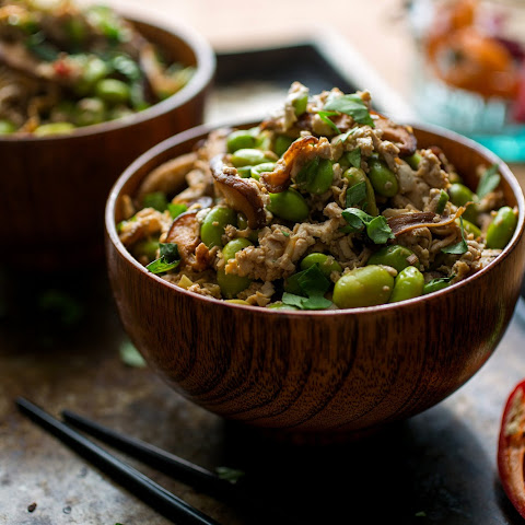 Shredded Tofu and Shiitake Stir-Fry