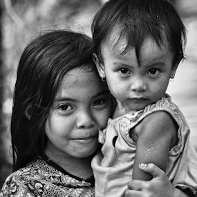 The Sister by Hajar Wisnu Dwiputra - Babies & Children Child Portraits