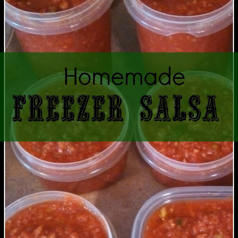 Homemade Freezer Salsa