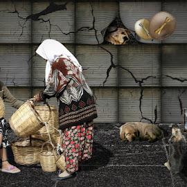street market by Babis Mavrommatis - Digital Art People ( fantasy, fine art, artistic, manipulation, creative )
