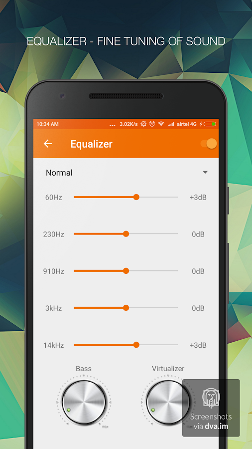 Music Player - mPlay Pro Screenshot 4