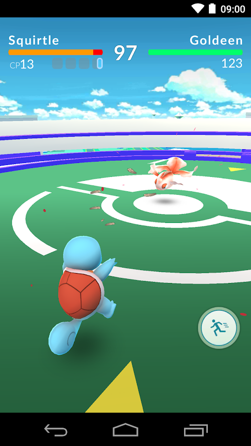 Pokémon GO Screenshot 3