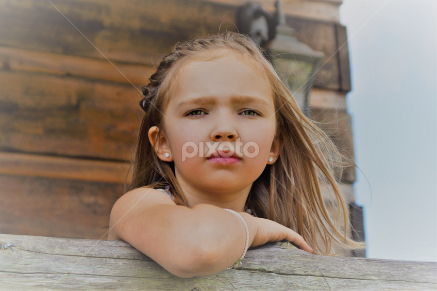 Thoughtful Daughter of the Bride by Cheryl Korotky - Babies & Children Child Portraits