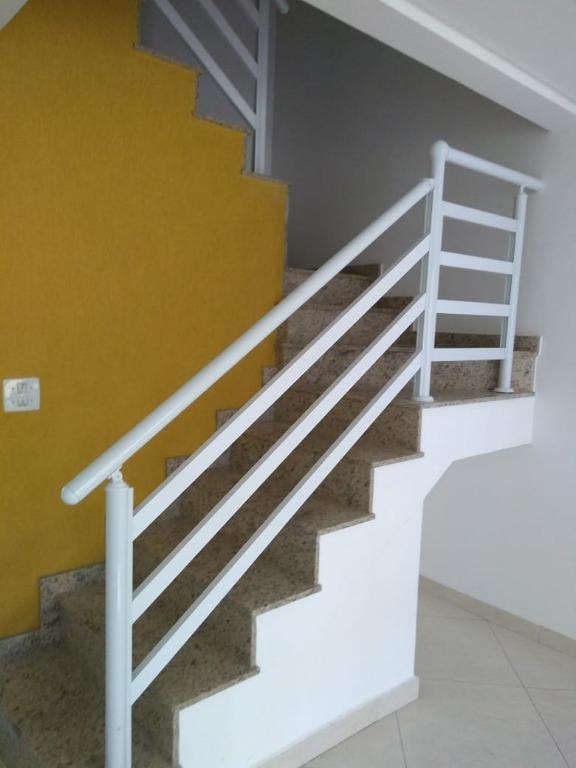 Sobrado com 2 dormitórios à venda, 80 m² - Vila Lucinda - Santo André/SP