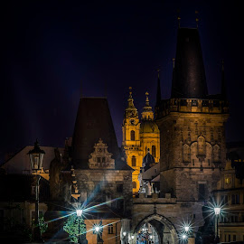 Follow Sherlock  by Selaru Ovidiu - City,  Street & Park  Night ( prague )