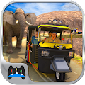Offroad Tuk Tuk Hill Adventure APK for Bluestacks