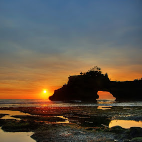 Pura Karang Bolong by Keril Doank - Landscapes Mountains & Hills