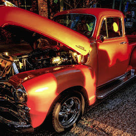 Classic Ford Pickup by Dave Walters - Transportation Automobiles ( cars, classic ford, crusin the coast, antiques, colors )