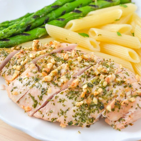 Garlic and Parsley Chicken Breasts