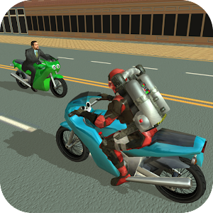 Jetpack Hero Miami Crime For PC (Windows & MAC)