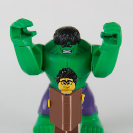 Open A Book by Gerald Glaza - Artistic Objects Toys ( marvel, read, hulk, imagination, disney, lego )