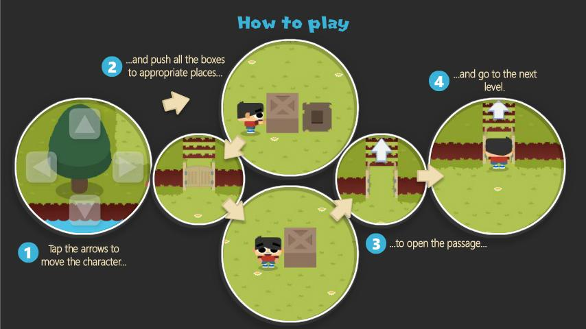 Sokoban Land (Ads Free) Screenshot 7