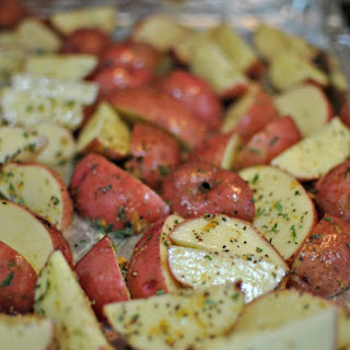 Oven Fries with Fresh Rosemary