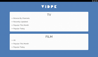 Screenshot of Vidpk