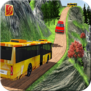 Simulate Hill Tourist Bus: Bus Driving Games Icon
