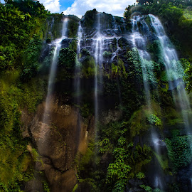 Interrupted by Ynon Francisco - Landscapes Waterscapes ( mountain, waterfalls, nature, drop, falls, forest, travel, trek )