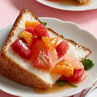 Angel Food Cake with Citrus Salad