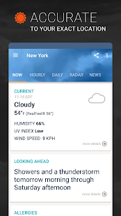 AccuWeather: Live weather forecast & storm radar for pc