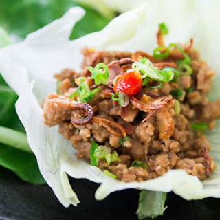 Spicy Chicken Lettuce Cups