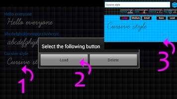 Screenshot of Cursive Converter