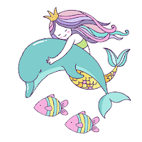 Beautiful Mermaid Keyboard Stickers for Gboard pour PC (Windows / Mac)