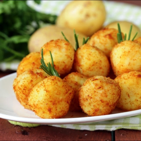 Potato & Cottage Cheese Croquettes