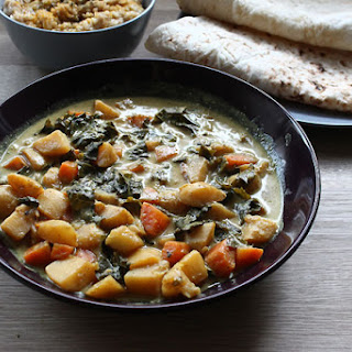 Kale, Potato And Carrot Curry