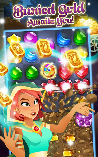 Genies & Gems - Jewel & Gem Matching Adventure screenshot 17