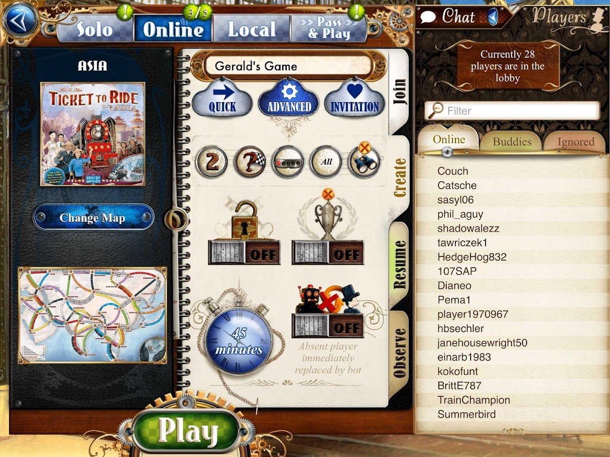 Ticket to Ride Screenshot 8