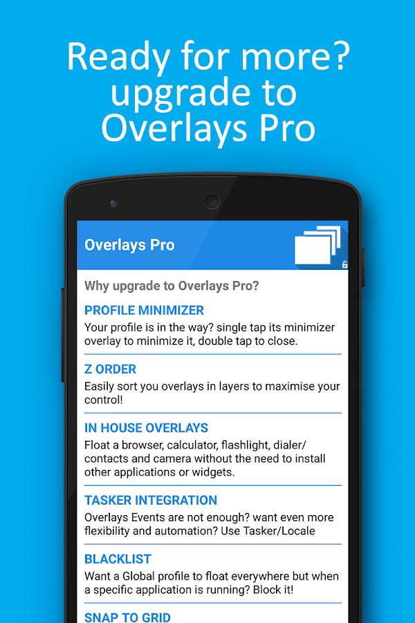 Overlays - Floating Automation Screenshot 4