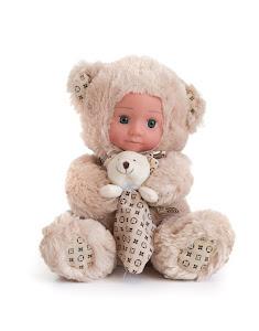 """Кукла """"Anna De Wailly"""" Медвежонок с платочком 25см"""