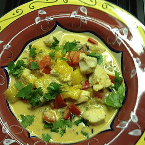 Thai Mango Chicken Curry
