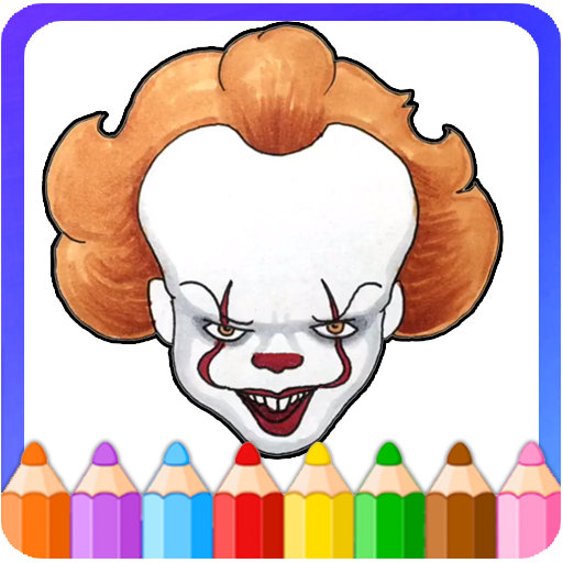 How To Color Pennywise IT (Pennywise Coloring) (game)