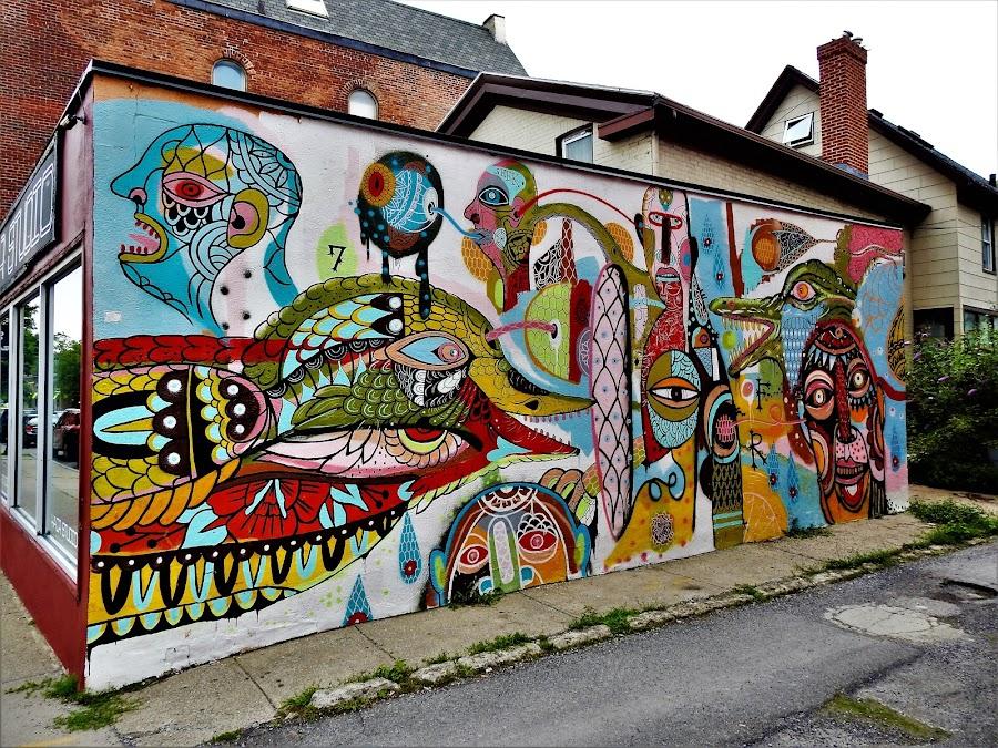 by Rhonda Rossi - City,  Street & Park  Street Scenes (  )
