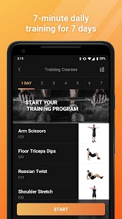 7 Day Fitness - Exercise & Workout App