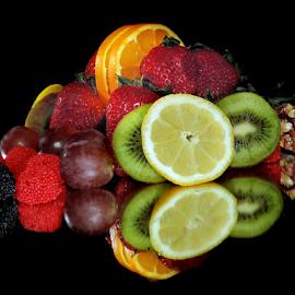 fruits,candy with dessert by LADOCKi Elvira - Food & Drink Fruits & Vegetables ( fruits )