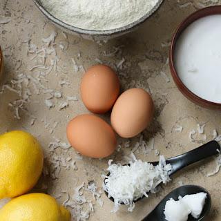 Coconut Flour Lemon Cake Recipes