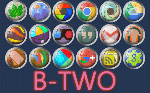 B-Two - icon pack - screenshot