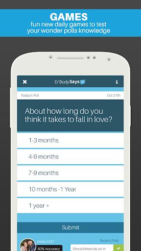 Wonder Polls: Question/Answers - screenshot