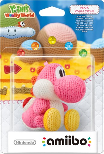 Pink Yarn Yoshi packaged (thumbnail) - Yoshi's Woolly World series