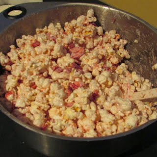 Strawberries and Cream Popcorn