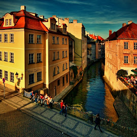 Kampa by Irena Brozova - City,  Street & Park  Historic Districts ( prague )