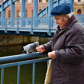 Human by Miloš Kluiber - City,  Street & Park  Street Scenes