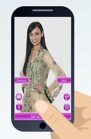 android indian sari dresses Screenshot 3