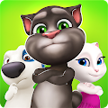 Download Android Game Talking Tom Bubble Shooter for Samsung